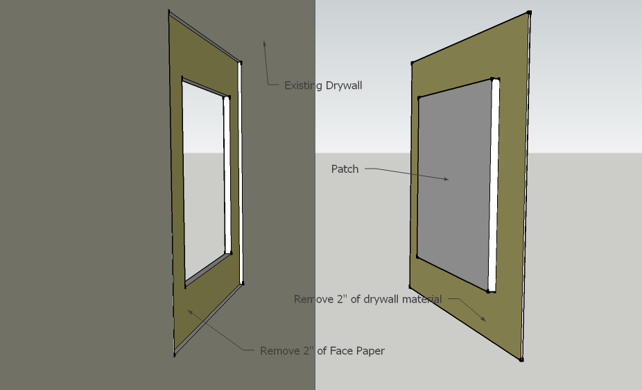 Drywall Techniques California Patch Residential Design